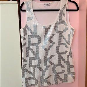 DKNY Sequin Top